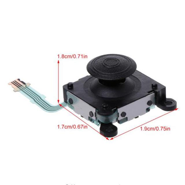 """3D analogowy Joystick thumb Stick uchwyty Cap, proszę kliknąć na przycisk """" moduł sterowania wymiana naprawa część dla Sony PS Vita PS Vita PSV 2000 slim"""