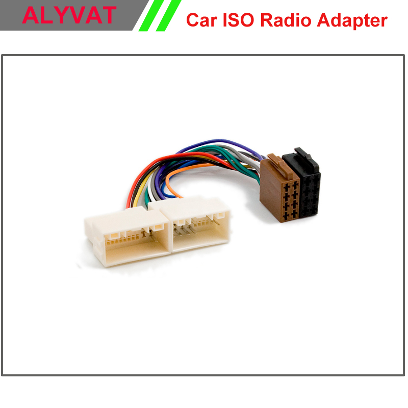 popular kia wiring harness buy cheap kia wiring harness lots from car iso stereo adapter connector for hyundai ix 35 solaris i 25 verna accent