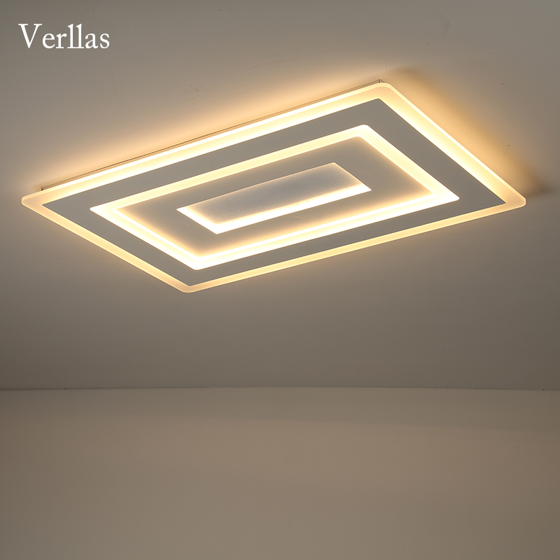 Luminaire Modern Led Ceiling Lights For Living Room Study Room Bedroom Home Dec AC85-265V lamparas de techo Ceiling Lamp dimming