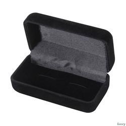Шкатулка для гранения запонок Организатор чехол запонки дисплей держатель для ювелирных изделий Свадебные