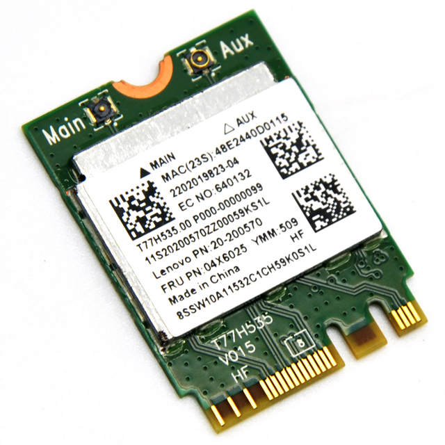US $6 89 5% OFF|Realtek RTL8723BE 300Mbps 802 11n NGFF Wireless Mini PCI E  WiFi Adapter + Bluetooth 4 0 WLAN card for Lenovo E450 E550 E555 Y50-in