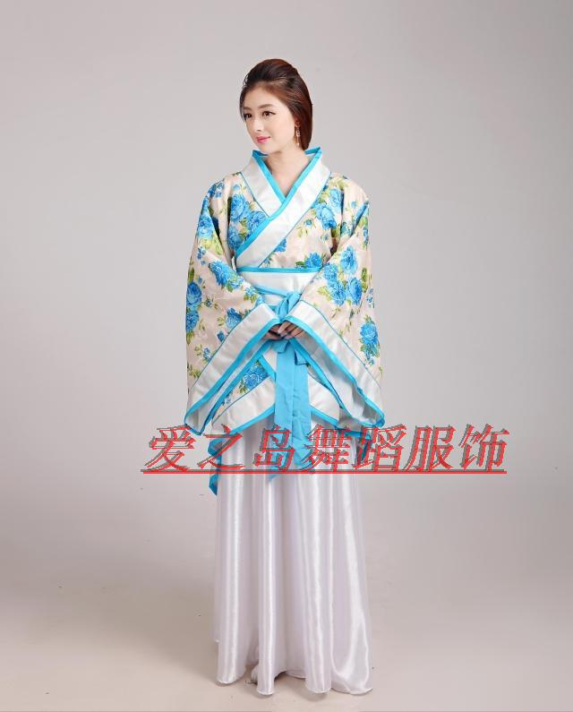 Chinese costume Hanfu women's clothes of Tang Dynasty Cosplay party dress