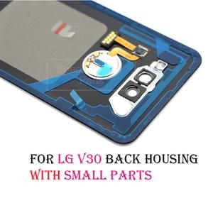 Image 4 - Back Cover for LG v30+/v30 Rear Housing Door Battery Cover for VS996 LS998U H933 LS998U H930 back housing with camera lens glass