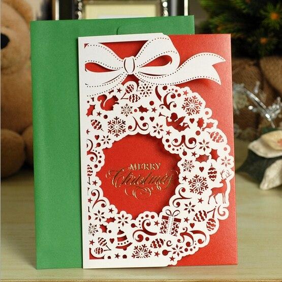 Personalised laser cut greeting cardhandmade christmas card gift personalised laser cut greeting cardhandmade christmas card gift set of 16 on aliexpress alibaba group m4hsunfo