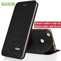 For Xiaomi Redmi Note 5a Case Silicone Cover Luxury Flip Mofi Xiaomi Redmi Note 5a Pro