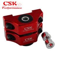 Fits For Honda Civic EG EK D16 B16 B18 B20 Engine Billet Motor Torque Mount Kit Red