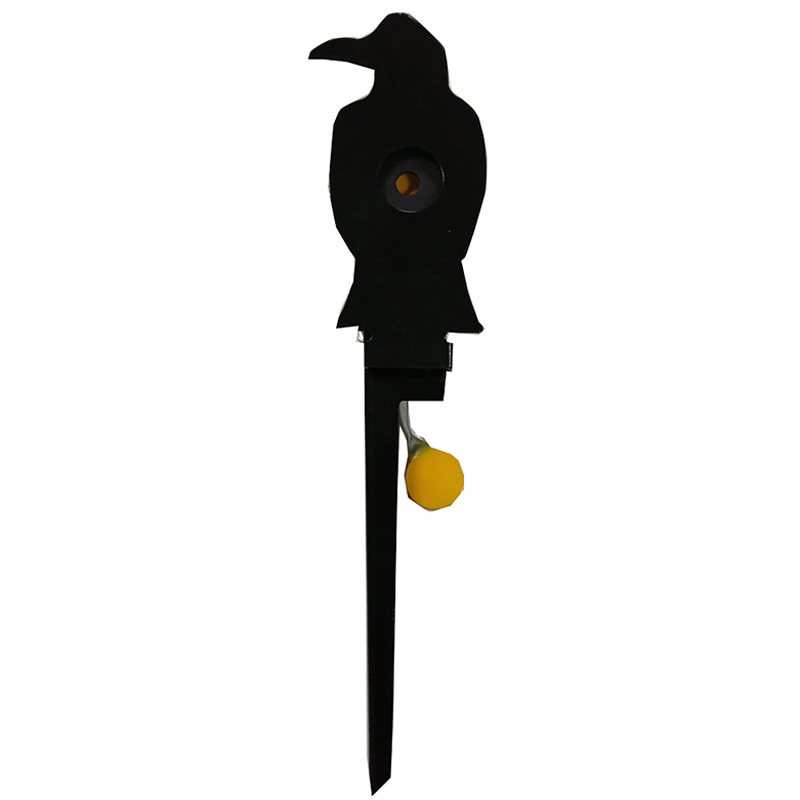 Heavy Steel Crow Target Aim for paintball Use only .177 or .22 caliber lead particles to improve hunting and shooting skills