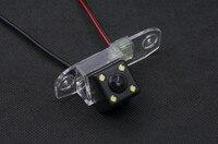 CCD للماء 4LED سيارة الرؤية الخلفية كاميرا احتياطية عكس كاميرا لموقف السيارات ل فولفو S80 S40 S60 V60 XC90 XC60 كاميرا خلفية