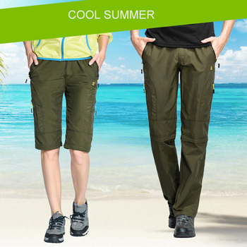 Nylon Removable Waterproof Hiking Pants 2