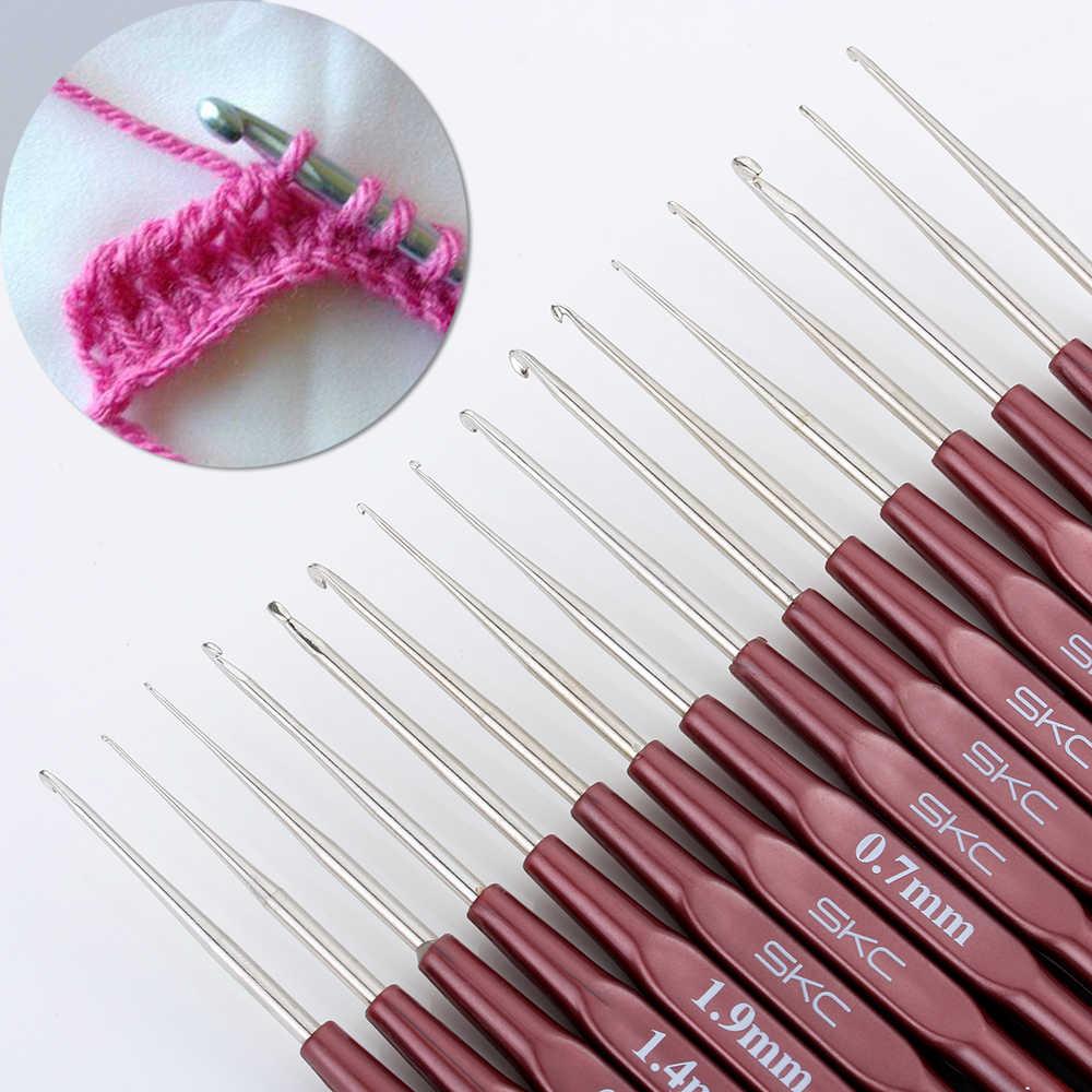 1 шт. новый крючок для вязания крючком смешанный 0,5 мм-2,7 мм маленький размер вплетать в пряжу спицы для куклы с кружевами DIY инструменты 16 размер s крючком
