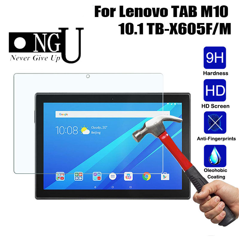 9H Tempered Glass For Lenovo TAB M10 X605F 10.1 Inch Protective Screen Protector Film Guard For Lenovo TB-X605F Glass Toughened