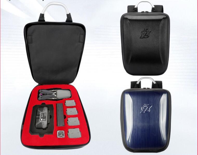 Hard Shell Carrying Case Backpack Shoulder Bag Waterproof Anti Shock For DJI Mavic 2 Pro Zoom