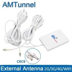 4 аппарат не привязан к оператору сотовой связи антенна wi-fi-роутер антенна 3g с CRC9 3 м кабель для huawei E3276 E3272 антенна модем