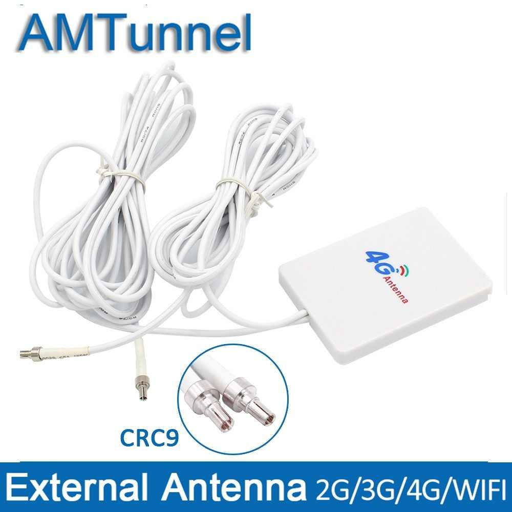 4G LTE هوائي موزع إنترنت واي فاي هوائي 3G مع CRC9 3m كابل علامة هواوي E3276 E3272 مودم الجوي