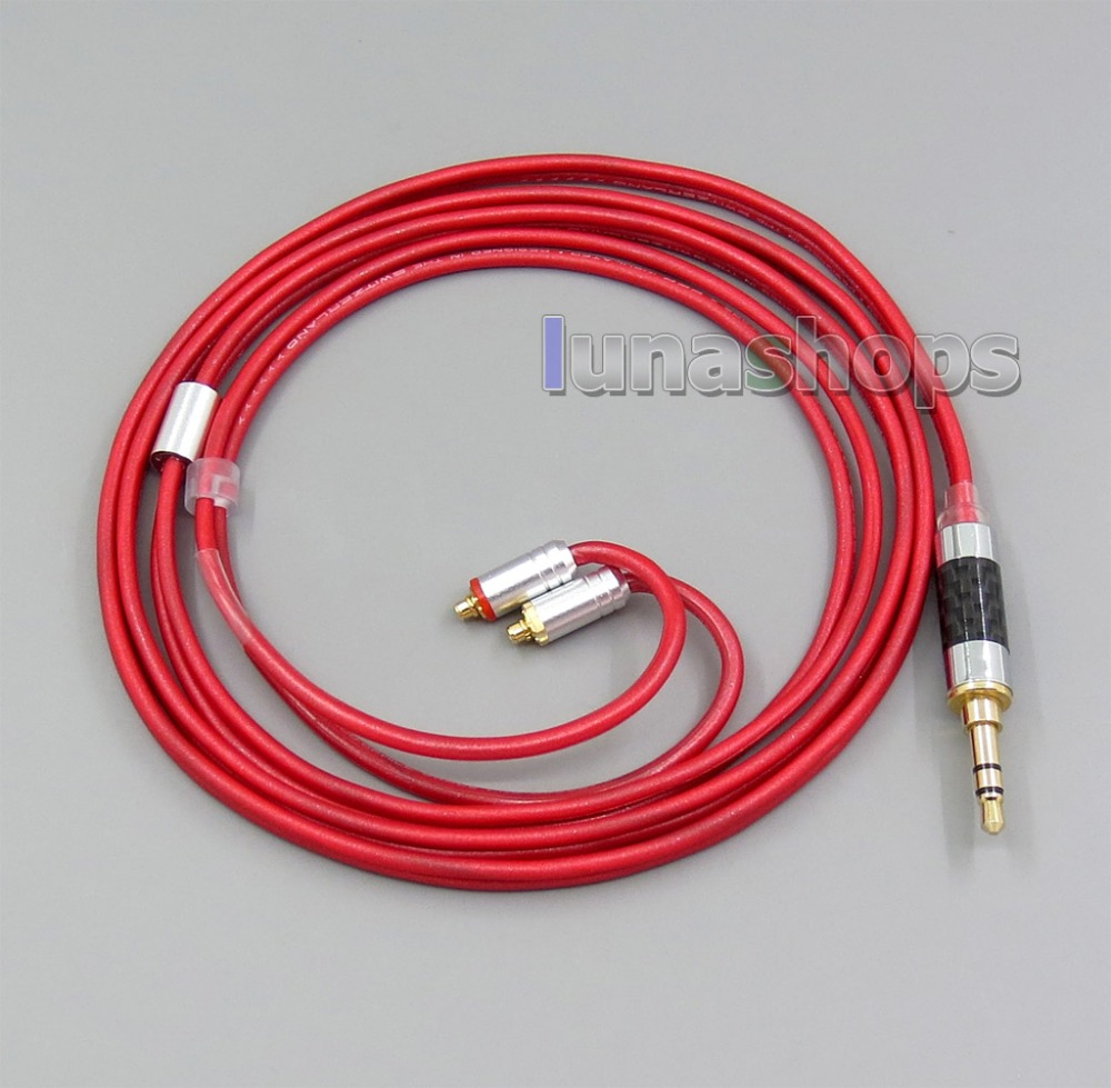 LN006220 3 5mm 2 5mm 4 4mm Balanced Pure PCOCC Earphone Cable For Shure se215 se315