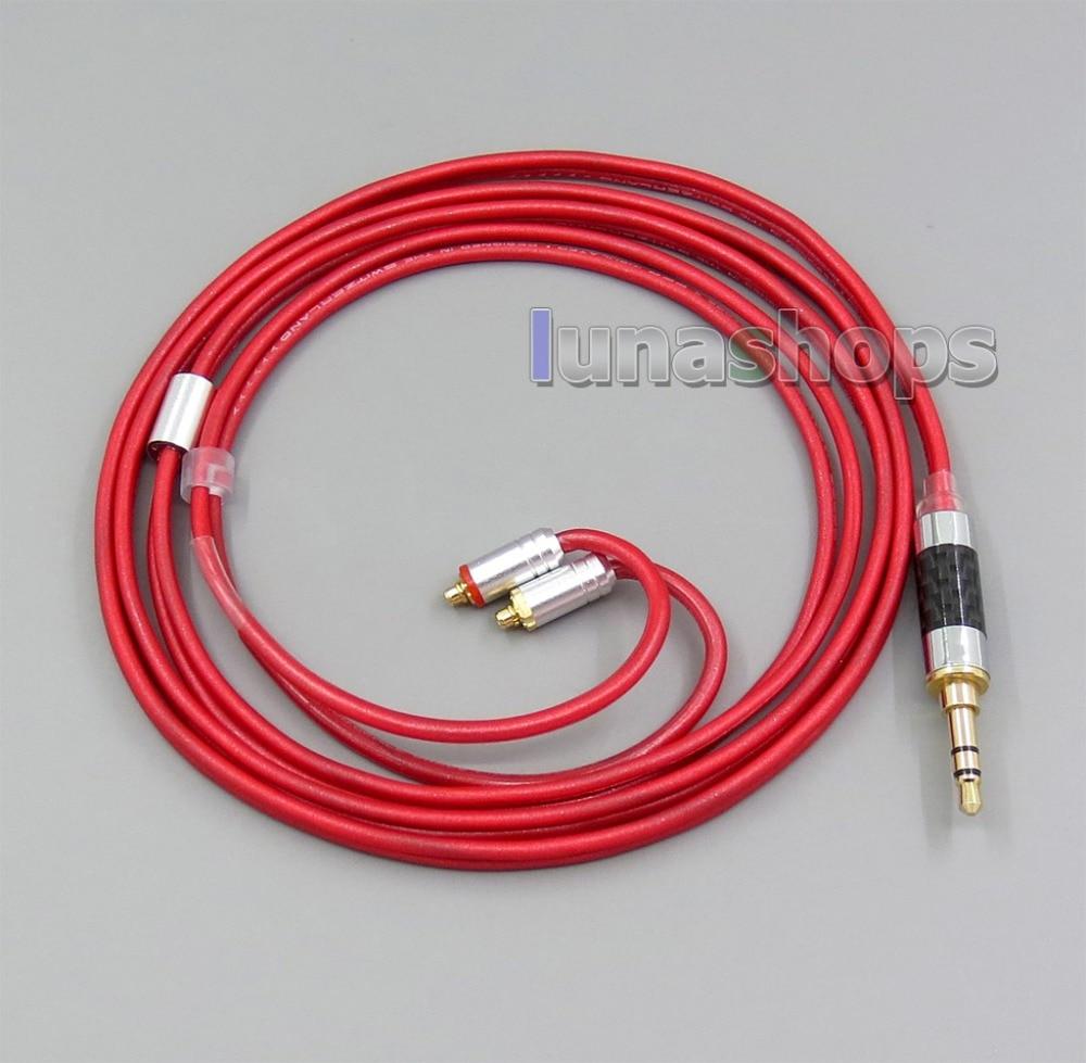 3.5mm 2.5mm 4.4mm Balanced Pure PCOCC Earphone Cable For Shure se215 se315 se425 se535 Se846 MMCX apt x mmcx bluetooth wireless cable hifi earphone aptx audio cable for shure se215 se535 se846 se425 se315 ue900 android ios