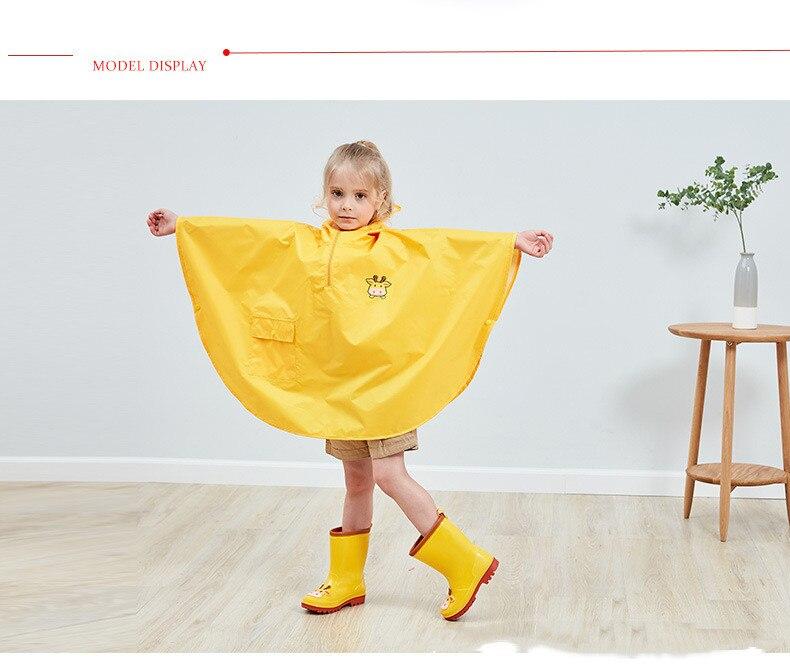 11.Rain Boots Kids for Boys Girls Rain Boots Waterproof Baby Non-slip Rubber Water Shoes Children four Seasons Rainboots