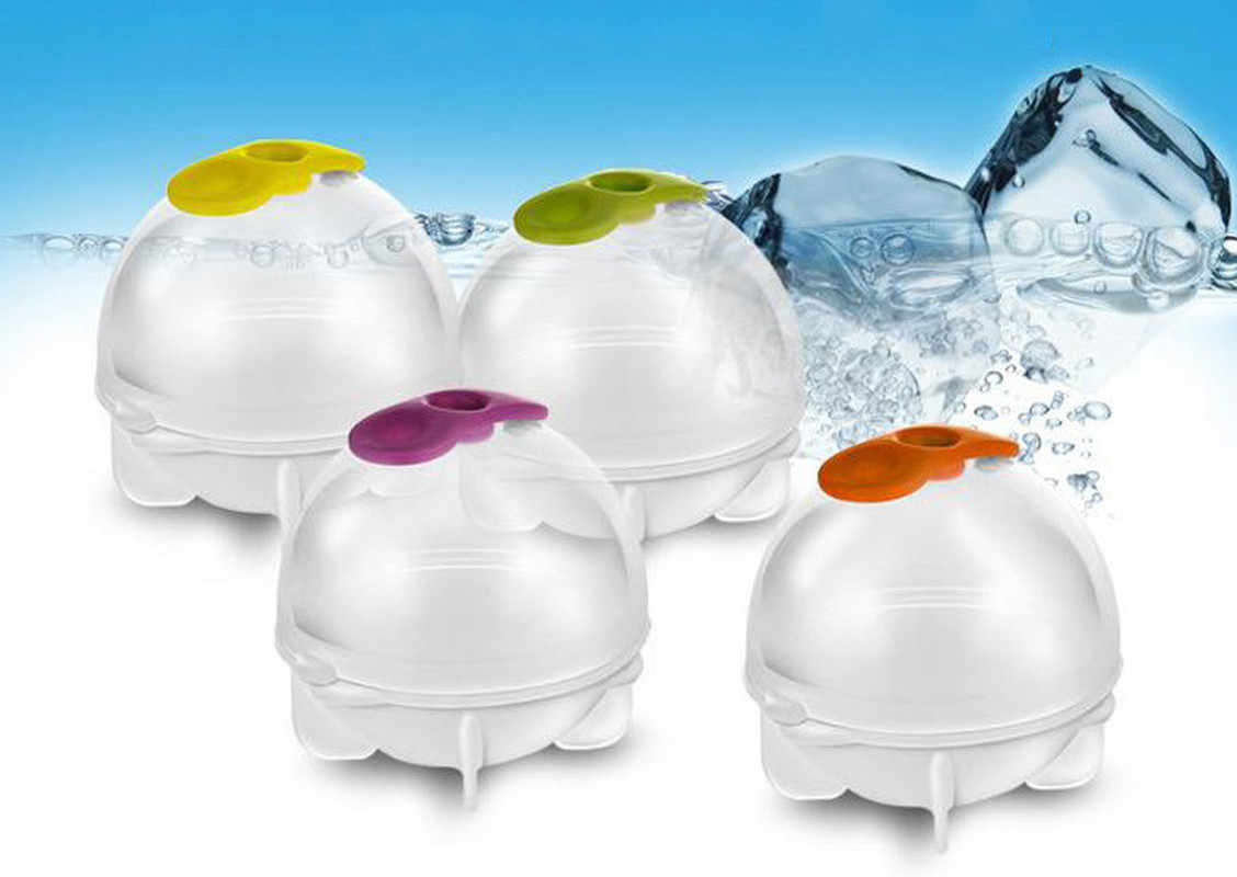 גדול גודל 5 cm כדור קרח תבניות בית בר מסיבת קוקטייל שימוש כדור עגול כדור קרח קוביית מקבלי מטבח DIY קרח קרם תבניות