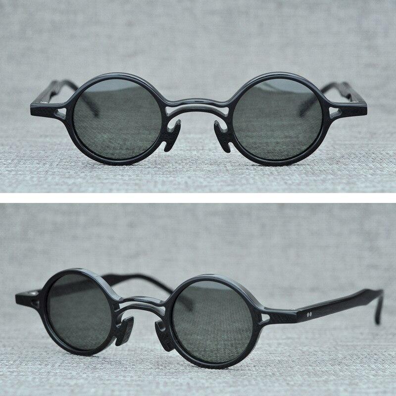Vintage petit rond lunettes de soleil polarisées hommes femmes marque Design rétro lunettes de soleil homme 2019 mode lunettes de soleil UV400 nuances Oculos