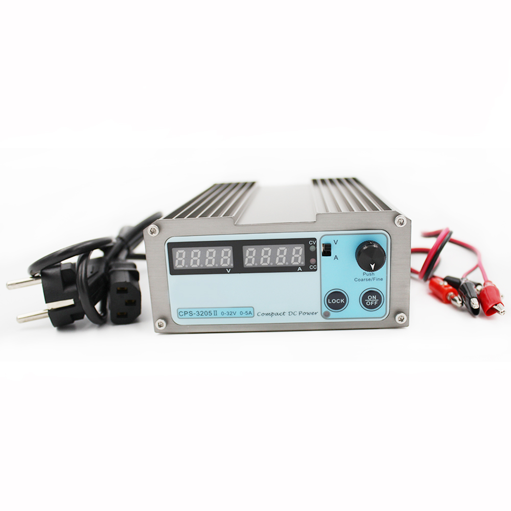 CPS 3205 II Adjustable DC Switching Power Supply 32V 5A 160W SMPS Switchable 110V 220V Compact