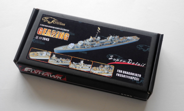 Keeling destroyer with dragon 1029  Warship  Assembly model Retrofit parts