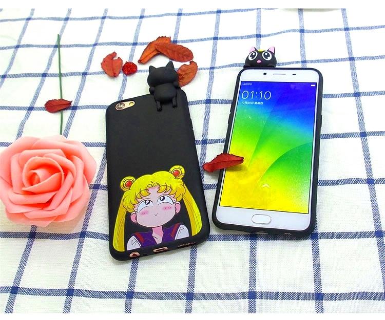 3D Cute Cartoon Minnie Mickey Soft Silicone Rubber Case Cover For OPPO R9 R9s Plus A59 FIND9 A39 A57 A33 NEO7 A35 F1 A53