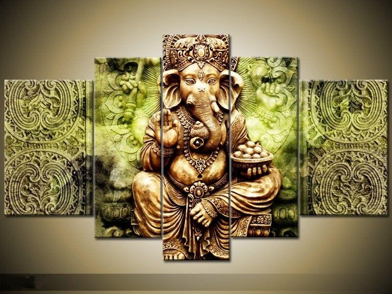 Contemporary Buddha Wall Art Illustration - Art & Wall Decor ...