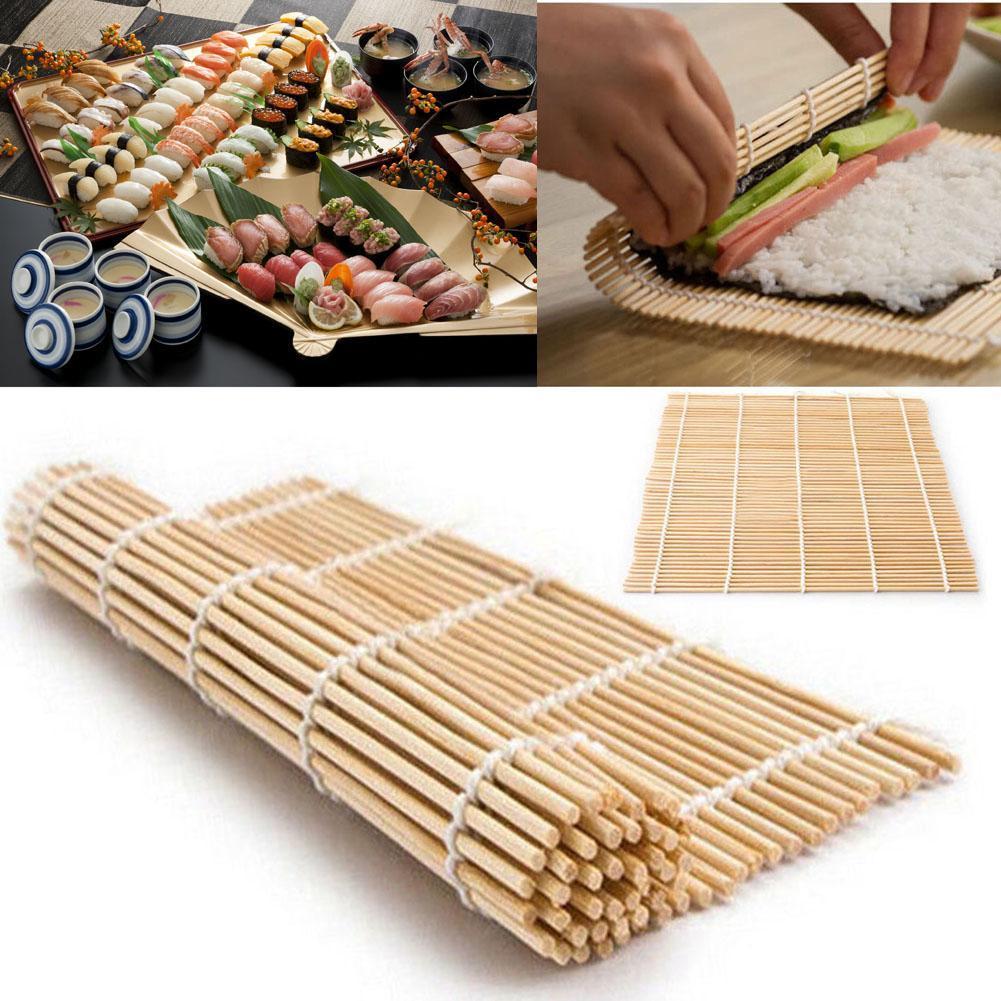Bamboo Material Mat Japanese Rice Roller Kitchen DIY