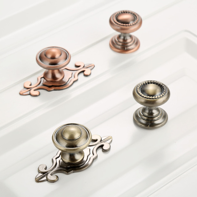 Charmant DRELD Furniture Handles Vintage Cabinet Knobs And Handles Alloy Door Knob  Cupboard Drawer Kitchen Pull Handle