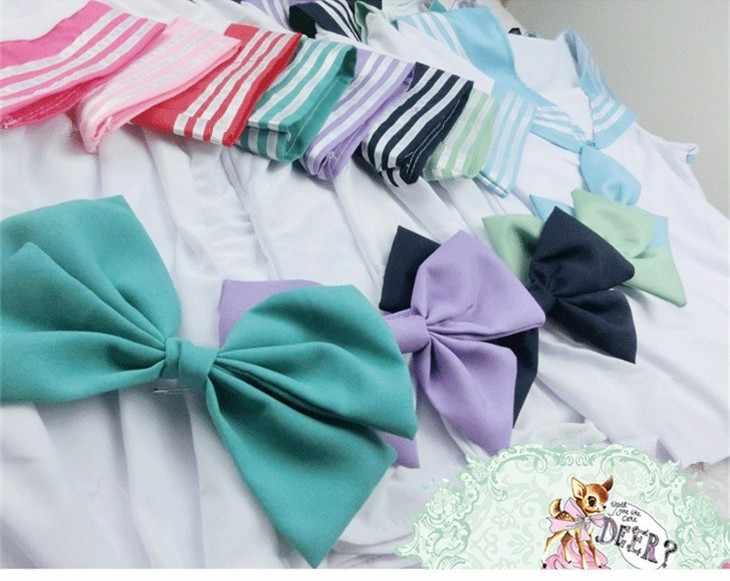 Женская японская школьная форма Seifuku, костюм моряка, топы + галстук + юбка, корейский стиль в морском стиле для школьниц, Lala, костюмы для болельщиц