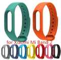 2016 latest Replace Strap for Xiaomi Mi Band 2 Version Mi Band 2 Silicone Wristbands  Bracelet 8 Color for Xiao Mi Band 2