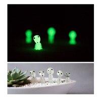 Princesa fantasma luminoso árvore assistente de vidro cristal versão 5 pçs/set