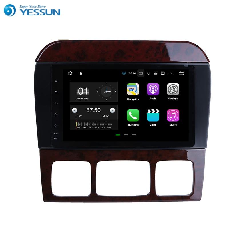 YESSUN Android pour Benz classe S W220 1999 ~ 2006 Navigation de voiture GPS Audio vidéo HD écran tactile lecteur multimédia pas de CD DVD.
