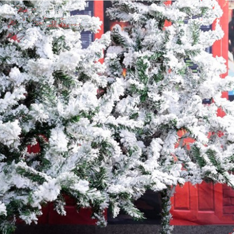 1.5 m / 150cm white Christmas tree flocking spray snow snowflake Christmas  ornament Christmas tree encryption-in Trees from Home & Garden on  Aliexpress.com ... - 1.5 M / 150cm White Christmas Tree Flocking Spray Snow Snowflake