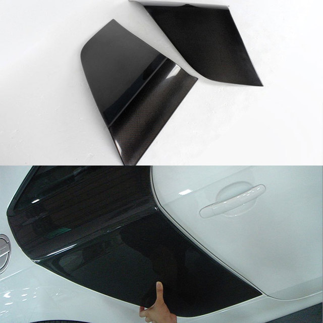 R8 Style For Audi TT 8J Carbon Fiber Side Door Blade Fender 2008~2013
