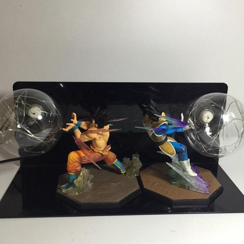 Dragon Ball Son Goku VS Vegeta фигурка креативная защита для глаз светодиодное освещение, лампа фигурка украшения G2613 - 2