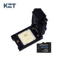 Индивидуальные tf24 pogo Булавки Тесты разъем 32 Булавки S адаптер раскладушка флэш памяти Разъем 3 5 дней для настройки гнездо карты памяти