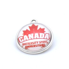 Pendant Accessories NHL Canada Men's National Charms Accessories for Bracelet Necklace for Women Men Ice Hockey Fans Paty 2017(China)