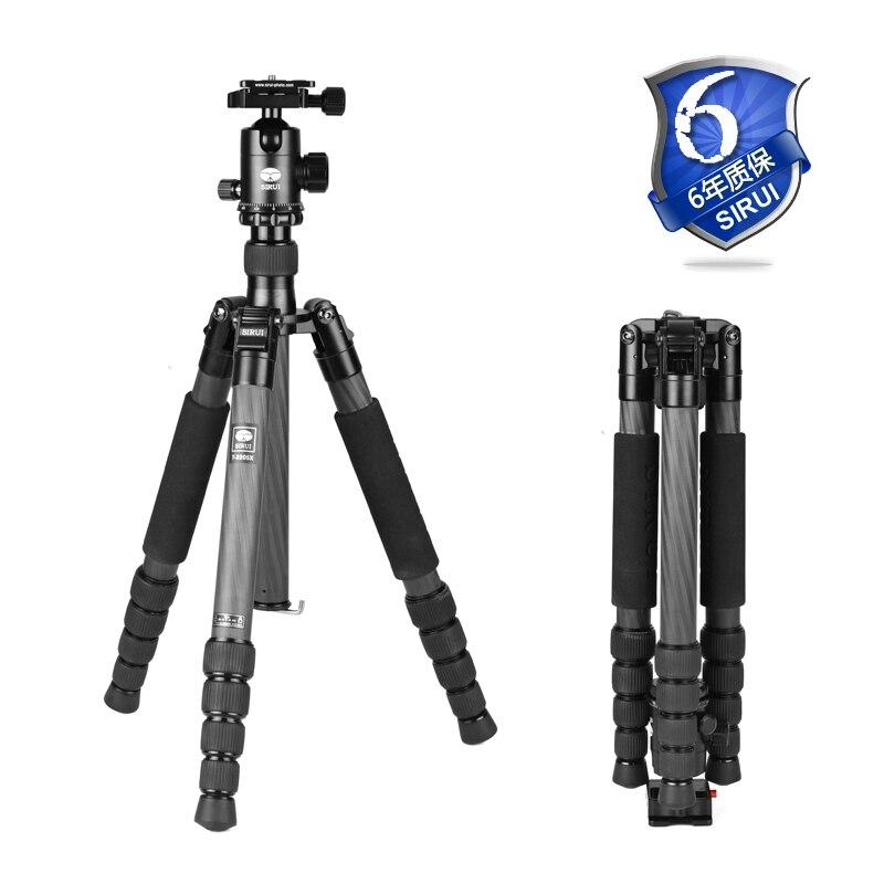 Sirui Pro Гибкая Крепление для штатива Штатив Комплект света для SLR камера s видео путешествия действие DHL T2205X + G20KX