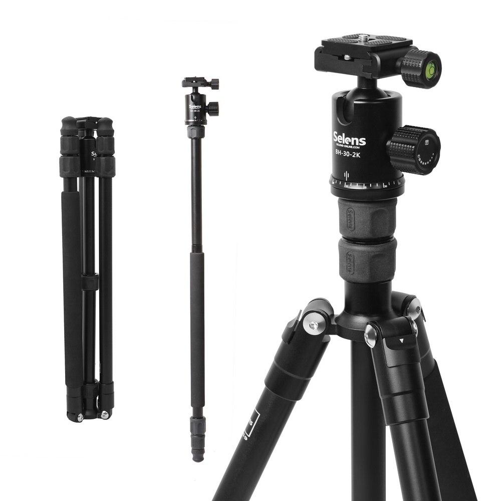 Portable léger TA-359 professionnel voyage caméra trépied monopode aluminium rotule compacte pour appareil photo reflex numérique DSLR