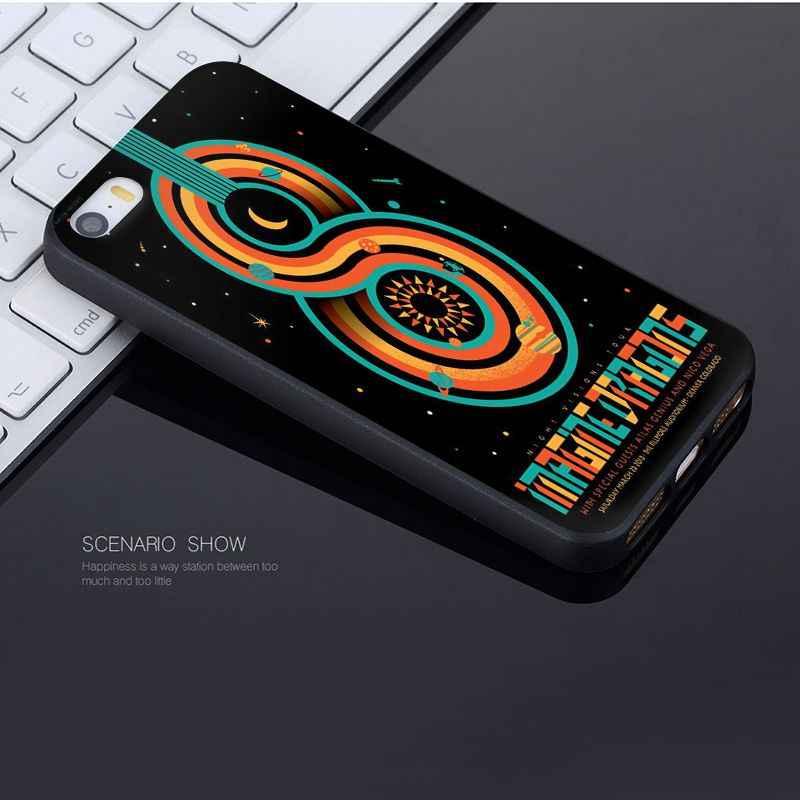Yinuoda para iphone 7 6 X funda imagine dragons noche música hermosa funda de teléfono para iphone 7 6X8 6S X 5 5S SE XR XS XSMAX