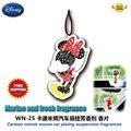 Accesorios del coche de la historieta del ratón de minnie de los coches perfume agente suave aromático piezas de papel WN-25 envío gratuito