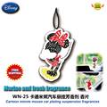 Car Accessories Cartoon  minnie mouse cars hanging perfume Balmy agent Aromatic pieces of paper  WN-25 freeshipping