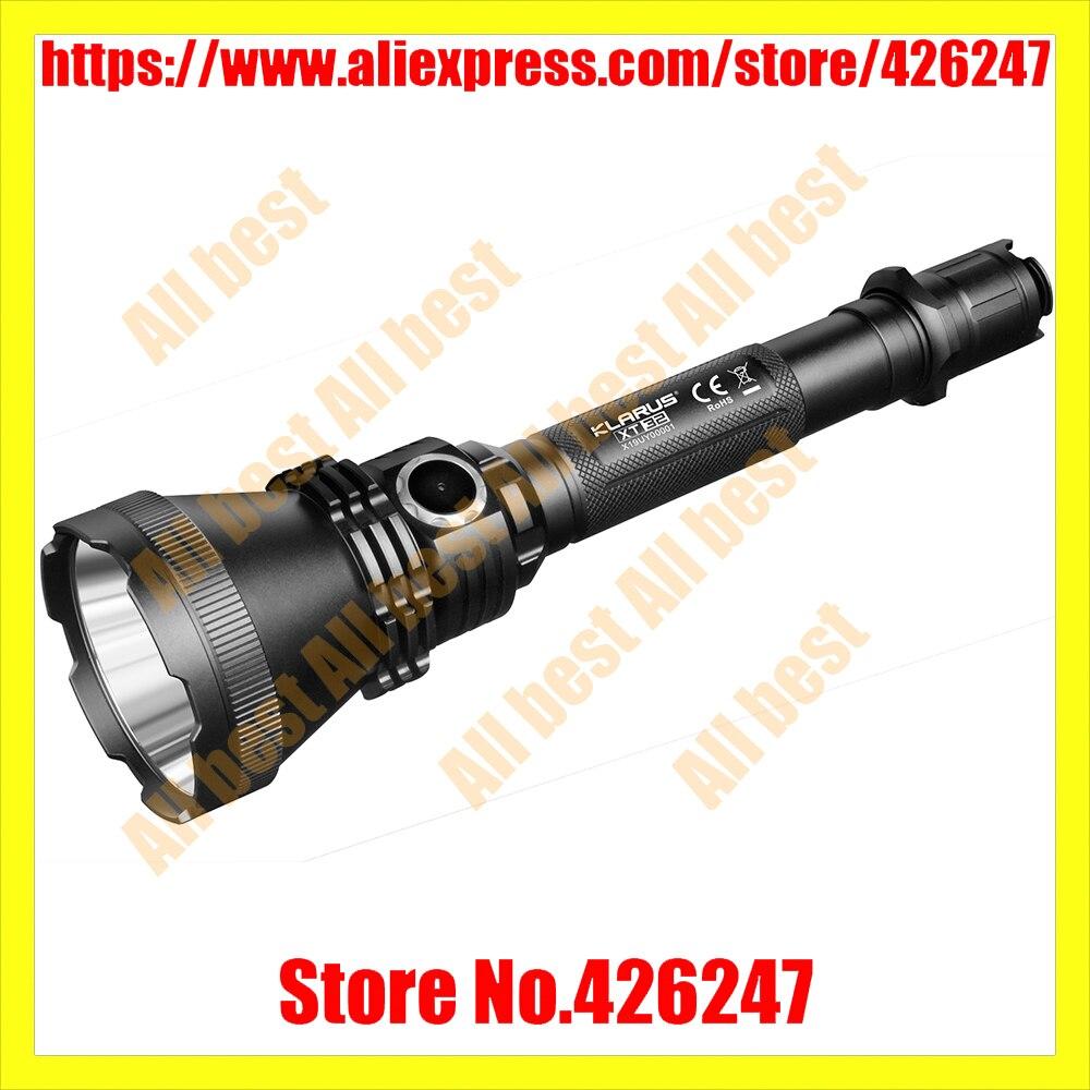 2018 Кларус xt32 Тактический Охота фонарик CREE XP L Привет V3 LED Макс. 1200lm луч расстоянии 1000 м факел