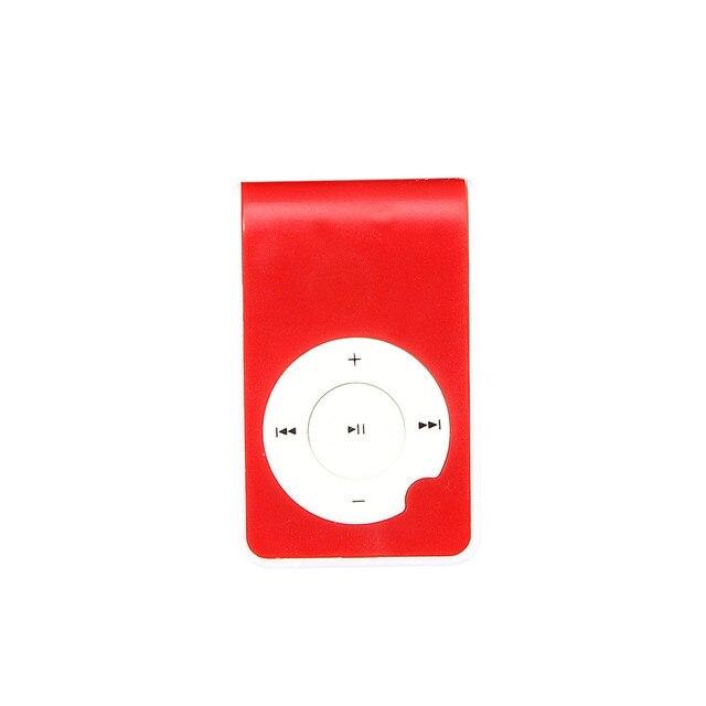 Новый портативный mp3-плеер мини-клипса металлический USB MP3 Поддержка Micro SD TF карта медиа l926 #3