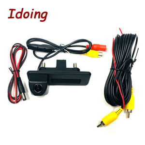 Image 5 - Idoing CCD Car Rear Camera Special camera For Skoda Octavia 2 Car Radio Multimedia DVD Audio Vedio Player