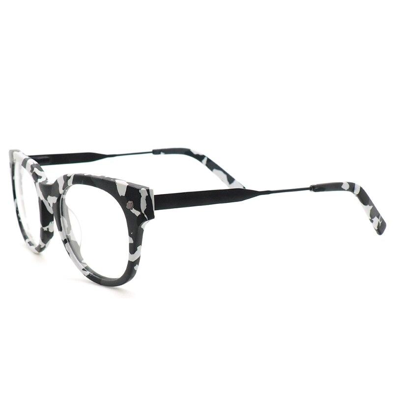 Optical glasses Square Light Eye Glasses Frames Camouflage Retro ...