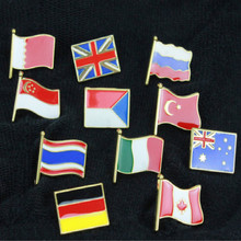 pride self-confidence china Russia USA Italy czech France Singapore Canada Australia badge national flag badges
