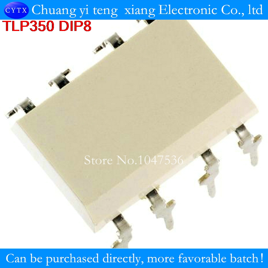 TLP350 DIP8 optoisolator photoelectric coupler Inverter for Air Conditioner, IGBT Power MOS FET Gate Drive Industrial 10Pcs/lot