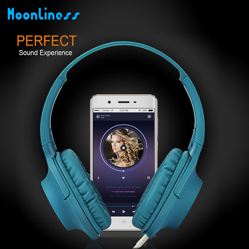 NBY Original 3.5mm Wired Headphone headphones Gaming Headset Music Earphone For PC Laptop Computer Mobile Phone
